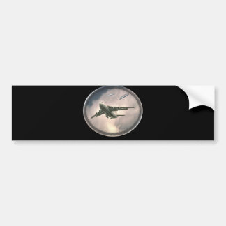 Air force UFO chase Bumper Sticker
