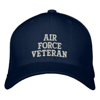 Air Force Veteran Military Embroidered Baseball Caps