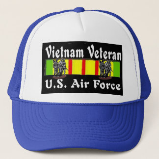 AIR FORCE VIETNAM VETERAN TRUCKER HAT