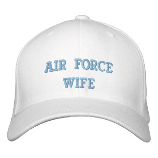 Air Force Wife Embroidered Baseball Cap