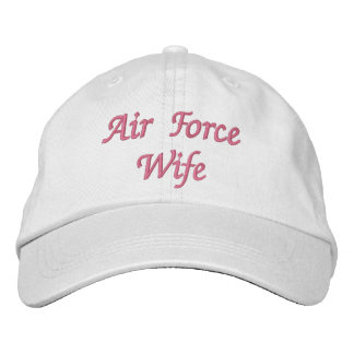 Air Force Wife Hat Embroidered Hats