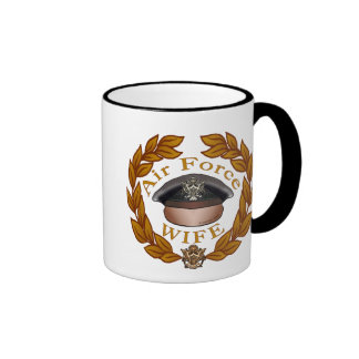 Air Force Wife Coffee Mugs