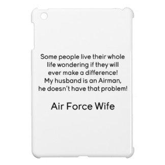 Air Force Wife No Problem iPad Mini Covers