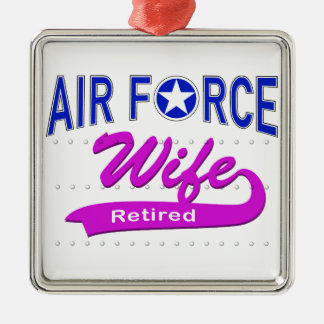 Air Force Wife Retired Christmas Ornament