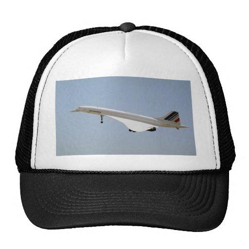 Air France Concorde, landing, Sacramento Airport, Cap
