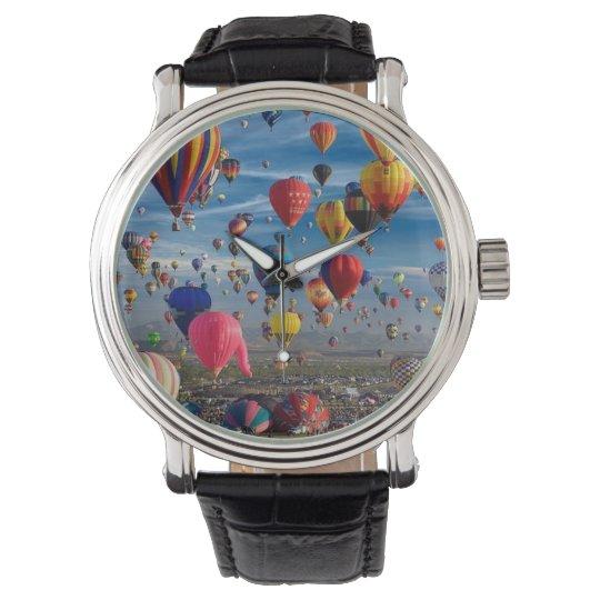 Air Full of Hot Air Balloon Wrist Watch