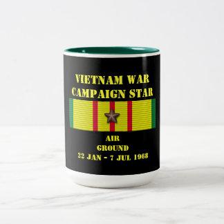 Air / Ground Campaign Two-Tone Coffee Mug