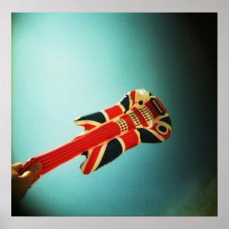 Air Guitar: holga poster