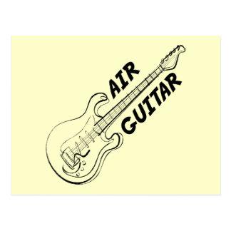 Air Guitar-Postcard