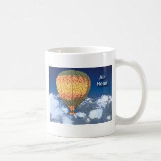 Air Head: Hot Air Balloon Basic White Mug