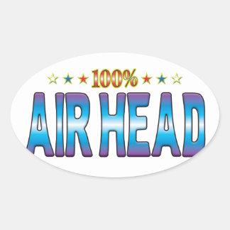 Air Head Star Tag v2 Sticker