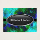 Air Heating And Cooling Business Card