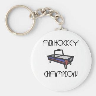 air hockey champ key ring