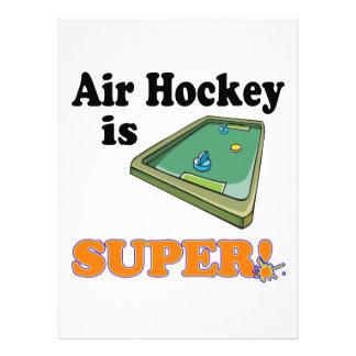 air hockey is super announcements