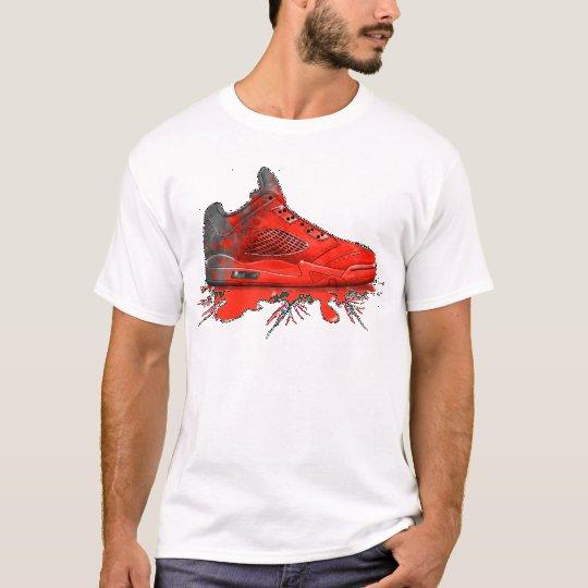 Air Jordan Retro 2016 apparel (Crimson Red) T-Shirt