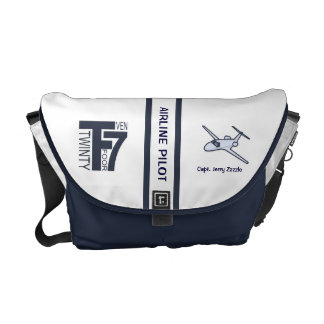 Air Line Pilot Messenger Bag