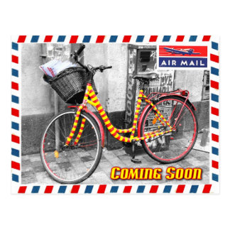 Air Mail Service Coming Soon Post Cards