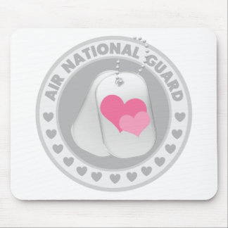 Air National Guard Love Mouse Pads