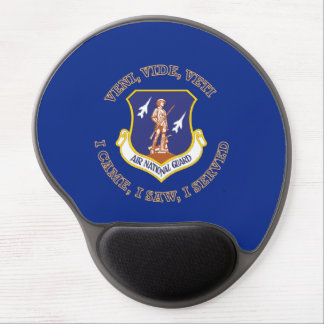 Air National Guard Shield Gel Mouse Pad
