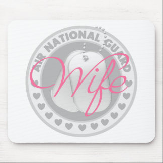 Air National Guard Wife Mouse Pad