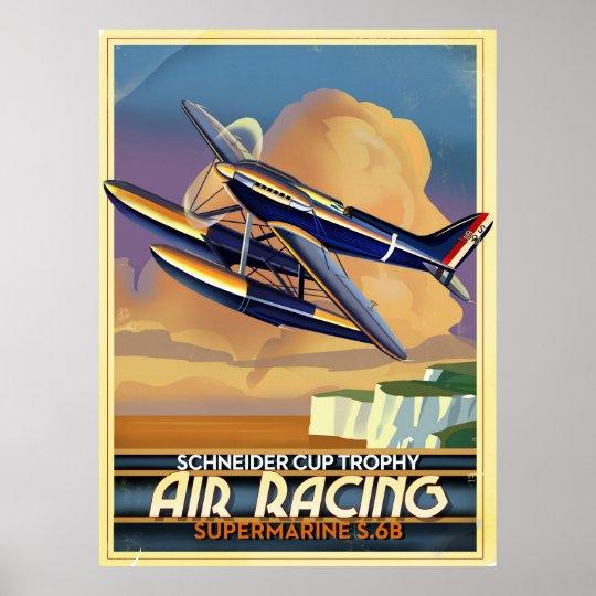Air Racing Poster