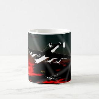 Air Raid Lancaster Basic White Mug