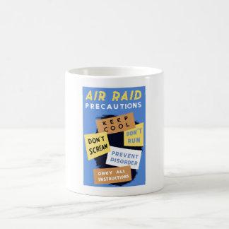 Air Raid Precautions -- WW2 Mugs