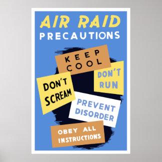 Air Raid Precautions -- WW2 Posters
