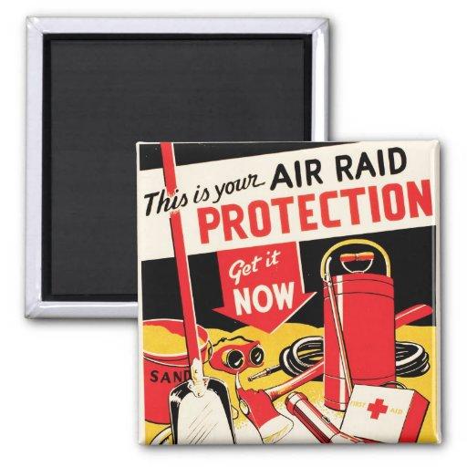 Air Raid Protection Magnets