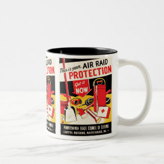 Air Raid Protection Mug