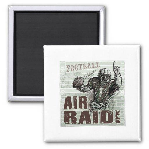 Air Raid Quarterback Magnet