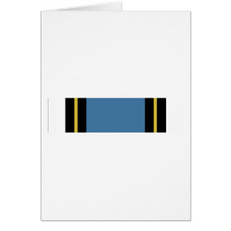 Air Reserve Forces Meritorious Service Ribbon Greeting Card
