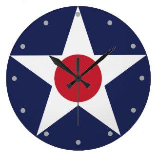 Air Service Emblem Large Clock