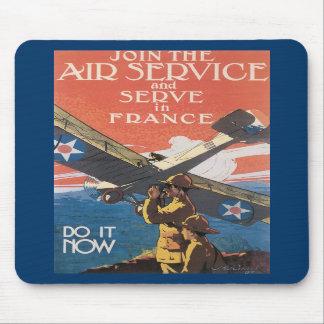 Air Service World War 2 Mouse Pads