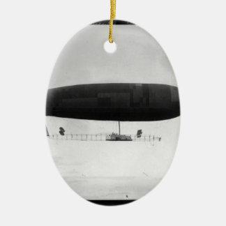 Air ship christmas ornament