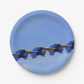 Air Show Paper Plate