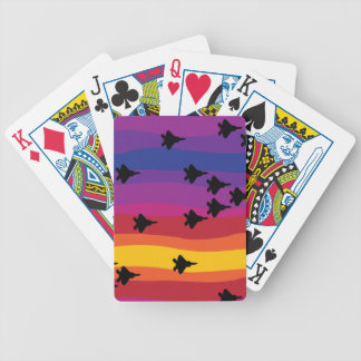 Air Superiority Bicycle Playing Cards