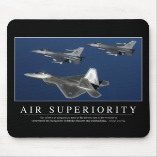 Air Superiority: Inspirational Mouse Pad