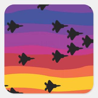 Air Superiority Square Sticker