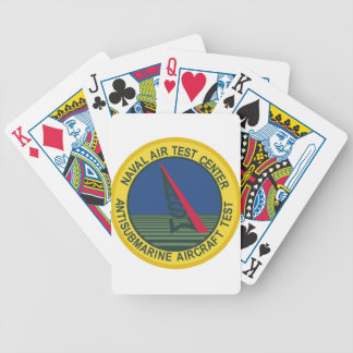 Air Test Center Antisubmarine Aircraft Bicycle Playing Cards