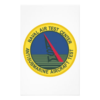 Air Test Center Antisubmarine Aircraft Customised Stationery