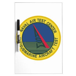 Air Test Center Antisubmarine Aircraft Dry-Erase Board