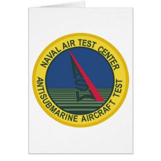 Air Test Center Antisubmarine Aircraft Greeting Card