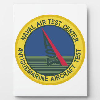 Air Test Center Antisubmarine Aircraft Photo Plaques