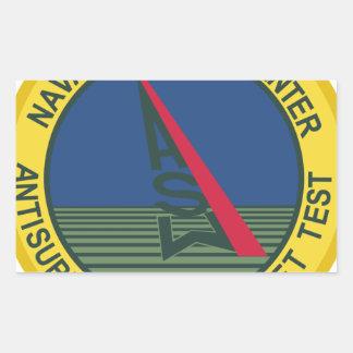 Air Test Center Antisubmarine Aircraft Rectangular Sticker
