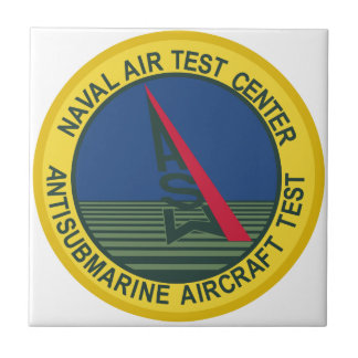 Air Test Center Antisubmarine Aircraft Small Square Tile
