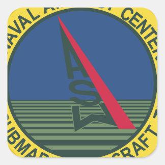 Air Test Center Antisubmarine Aircraft Square Sticker