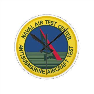 Air Test Center Antisubmarine Aircraft Wall Clocks