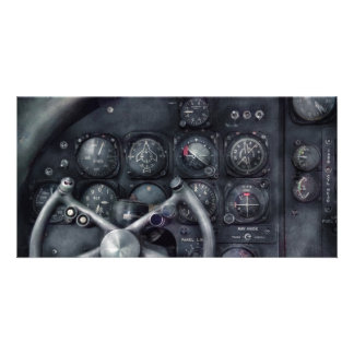 Air - The Cockpit Picture Card