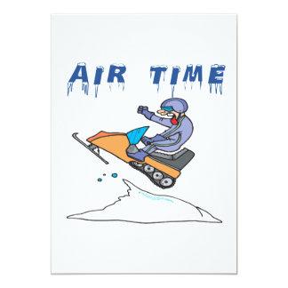 Air Time 2 13 Cm X 18 Cm Invitation Card